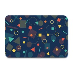 Background Backdrop Geometric Plate Mats by Sapixe