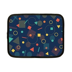 Background Backdrop Geometric Netbook Case (small)  by Sapixe