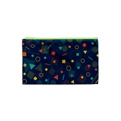 Background Backdrop Geometric Cosmetic Bag (xs)