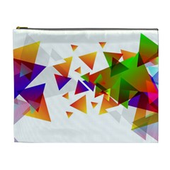 Abstract Pattern Background Design Cosmetic Bag (xl)