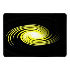 Fractal Swirl Yellow Black Whirl Apple Ipad Pro 10 5   Flip Case by Sapixe