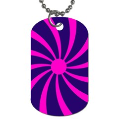 Illustration Abstract Wallpaper Dog Tag (one Side)