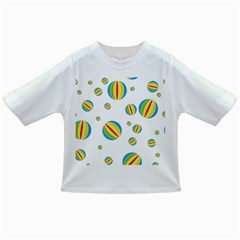 Balloon Ball District Colorful Infant/toddler T Shirts