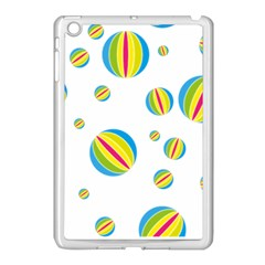 Balloon Ball District Colorful Apple Ipad Mini Case (white) by Sapixe