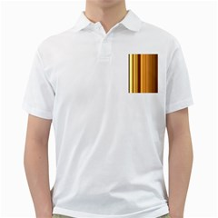 Course Gold Golden Background Golf Shirts