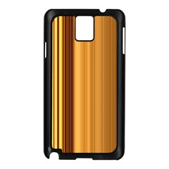 Course Gold Golden Background Samsung Galaxy Note 3 N9005 Case (black)