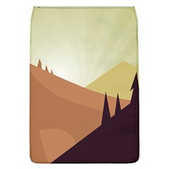 Sky Art Silhouette Panoramic Flap Covers (l)  by Sapixe