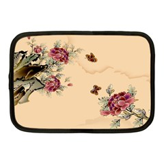 Flower Traditional Chinese Painting Netbook Case (medium)  by Sapixe