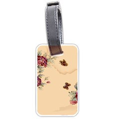 Flower Traditional Chinese Painting Luggage Tags (two Sides) by Sapixe