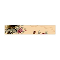 Flower Traditional Chinese Painting Flano Scarf (mini) by Sapixe