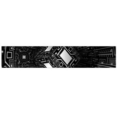 Technoid Future Robot Science Large Flano Scarf  by Sapixe