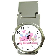 Long Distance Lover   Cute Unicorn Money Clip Watches