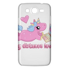 Long Distance Lover   Cute Unicorn Samsung Galaxy Mega 5 8 I9152 Hardshell Case  by Valentinaart