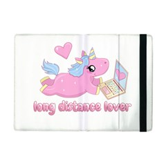 Long Distance Lover - Cute Unicorn Ipad Mini 2 Flip Cases by Valentinaart