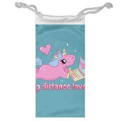 Long Distance Lover   Cute Unicorn Jewelry Bags by Valentinaart