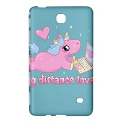 Long Distance Lover   Cute Unicorn Samsung Galaxy Tab 4 (7 ) Hardshell Case  by Valentinaart