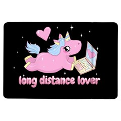 Long Distance Lover   Cute Unicorn Ipad Air Flip