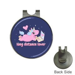 Long Distance Lover   Cute Unicorn Hat Clips With Golf Markers by Valentinaart