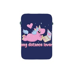 Long Distance Lover   Cute Unicorn Apple Ipad Mini Protective Soft Cases by Valentinaart