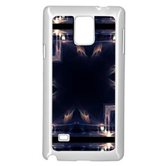 Cosmos Kaleidoscope Art Pattern Samsung Galaxy Note 4 Case (white)