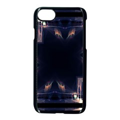 Cosmos Kaleidoscope Art Pattern Apple Iphone 7 Seamless Case (black)