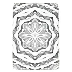 Mandala Pattern Floral Flap Covers (s)  by Sapixe