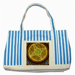 Gaylord Palms Hotel Dome Painted Striped Blue Tote Bag