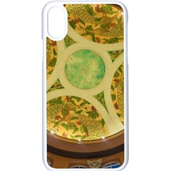 Gaylord Palms Hotel Dome Painted Apple Iphone X Seamless Case (white)