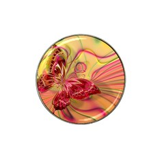 Arrangement Butterfly Aesthetics Hat Clip Ball Marker (4 Pack)