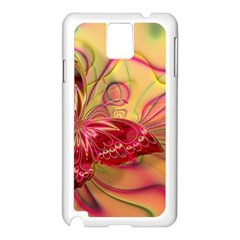 Arrangement Butterfly Aesthetics Samsung Galaxy Note 3 N9005 Case (white)