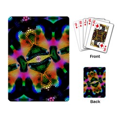 Butterfly Color Pop Art Playing Card by Sapixe