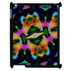 Butterfly Color Pop Art Apple Ipad 2 Case (black) by Sapixe