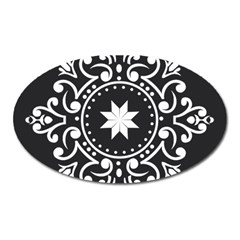 Table Pull Out Computer Graphics Oval Magnet by Sapixe