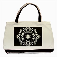 Table Pull Out Computer Graphics Basic Tote Bag (two Sides)
