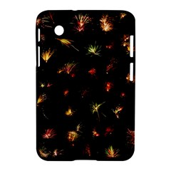 Fireworks Christmas Night Dark Samsung Galaxy Tab 2 (7 ) P3100 Hardshell Case  by Sapixe