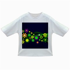 Flower Power Flowers Ornament Infant/toddler T Shirts