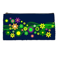 Flower Power Flowers Ornament Pencil Cases by Sapixe