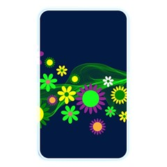 Flower Power Flowers Ornament Memory Card Reader by Sapixe