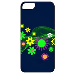 Flower Power Flowers Ornament Apple Iphone 5 Classic Hardshell Case by Sapixe