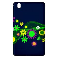 Flower Power Flowers Ornament Samsung Galaxy Tab Pro 8 4 Hardshell Case by Sapixe