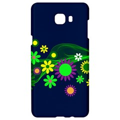 Flower Power Flowers Ornament Samsung C9 Pro Hardshell Case  by Sapixe
