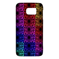 Rainbow Grid Form Abstract Samsung Galaxy S6 Hardshell Case
