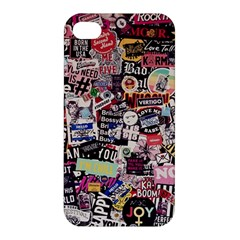 Sticker Wall Color Paper Decoration Apple Iphone 4/4s Hardshell Case