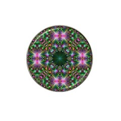Kaleidoscope Digital Kaleidoscope Hat Clip Ball Marker
