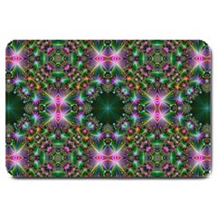 Kaleidoscope Digital Kaleidoscope Large Doormat