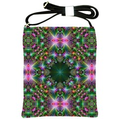 Kaleidoscope Digital Kaleidoscope Shoulder Sling Bags