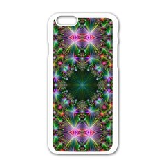 Kaleidoscope Digital Kaleidoscope Apple Iphone 6/6s White Enamel Case