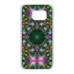 Kaleidoscope Digital Kaleidoscope Samsung Galaxy S7 White Seamless Case