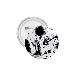 Pattern Color Painting Dab Black 1 75  Buttons by Sapixe