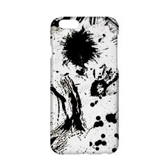 Pattern Color Painting Dab Black Apple Iphone 6/6s Hardshell Case